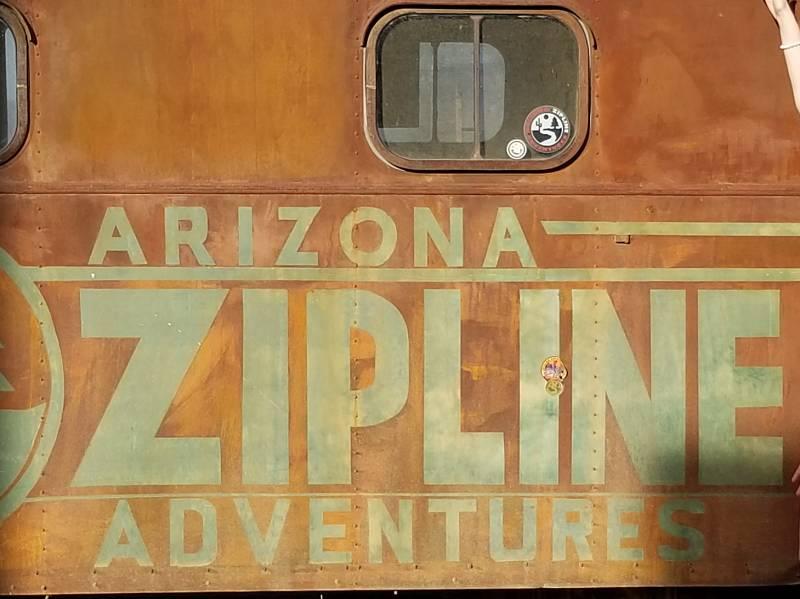 Zipline for teen birthday adventure