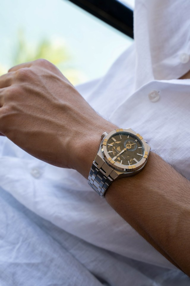 Maurice Lacroix รุ่น Aikon Automatic Mercury