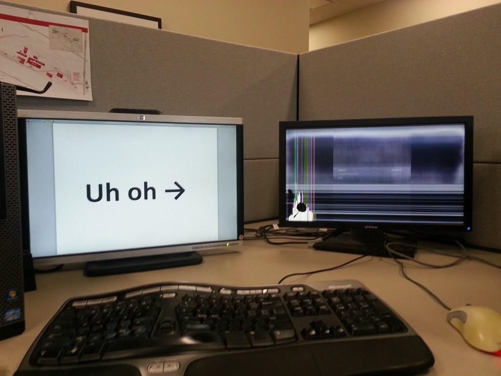 computer screen repair