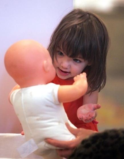 Cute Baby Girl Child Wallpaper Animism In Children Child Doll Imagination Innocence