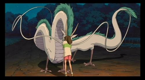 Cute Girl And Boy Hug Wallpaper Chihiro Dragon Ghibli Haku Hayao Miyazaki Miyazaki