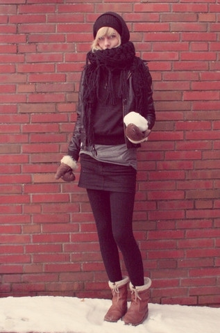 black, blonde, dark, fall 08, fashion, girl