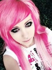 emo girl hair model