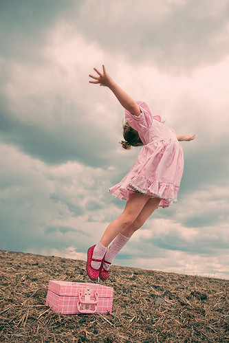 Cute Baby Hijab Wallpaper Child Color Dance Falling Fantasy Flying Image