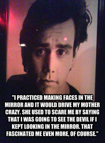 Jim Carrey Quotes Sayings Making Faces Mirror Fav