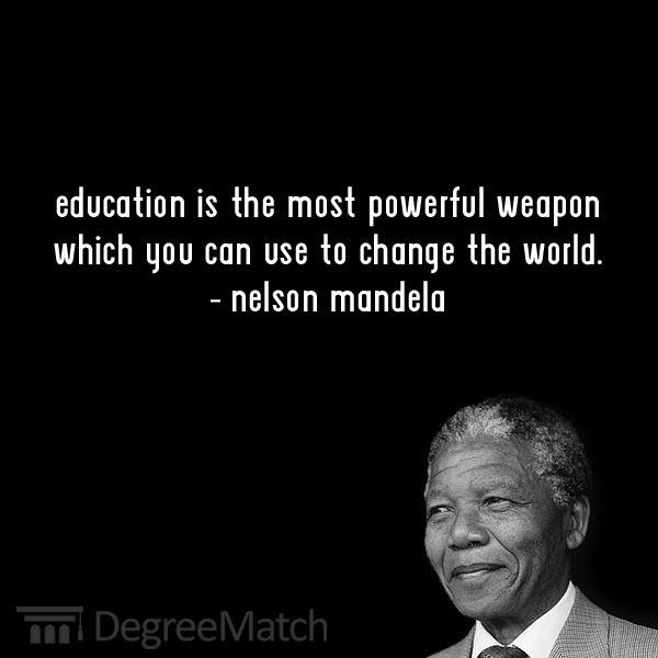 Mandelas' quotes about Education, freedom, wisdom, peace ...