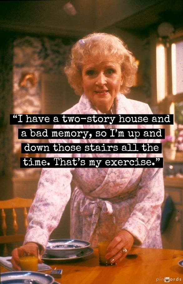 Betty White Celebrity Actress Lady Sayings Fav