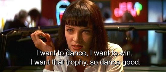 movie pulp fiction quotes sayings famous dance  Fav