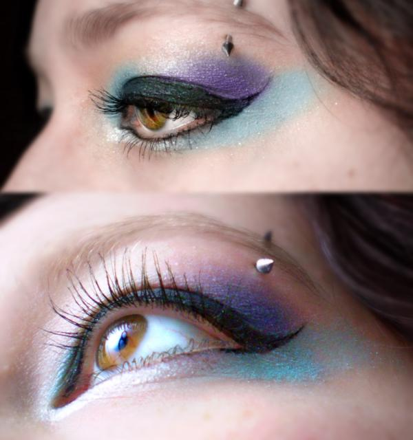 how to make blue from purple