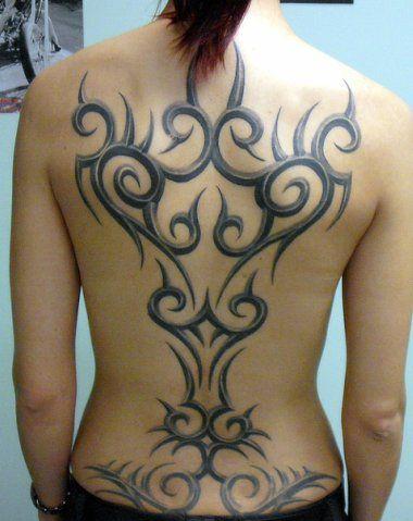 Tribal Tattoos Designs Ideas Tattoo Lady Back Fav