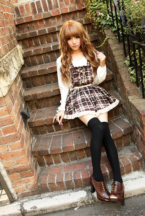 Japan Fashion Outfit Style Clothes Awesome Girl