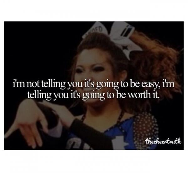 cheerleading quotes inspiring motivational sayings be