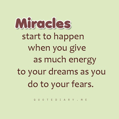 daily positive quotes best cool sayings miracles