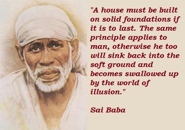Sai Baba Quotes And Sayings Fav Images Amazing Pictures