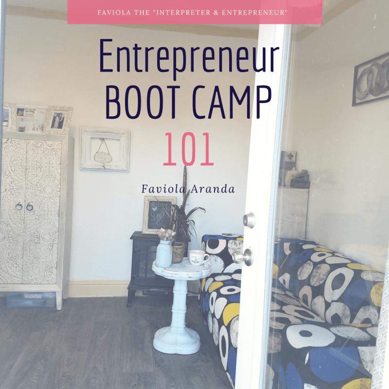 Entrepreneur Boot Camp Guide