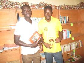 Justin le bibliothécaire et Bako Issif