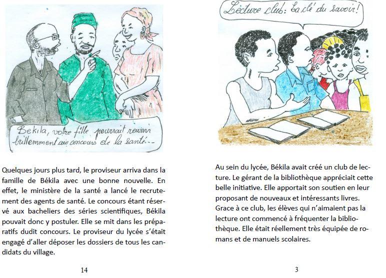 snippet Bekila book