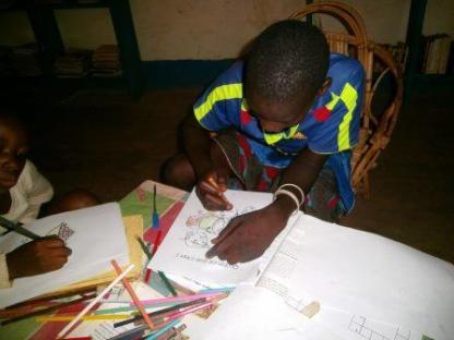 Coloration des images à Koumbia