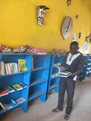 Visite du directeur de l'école de Koho A