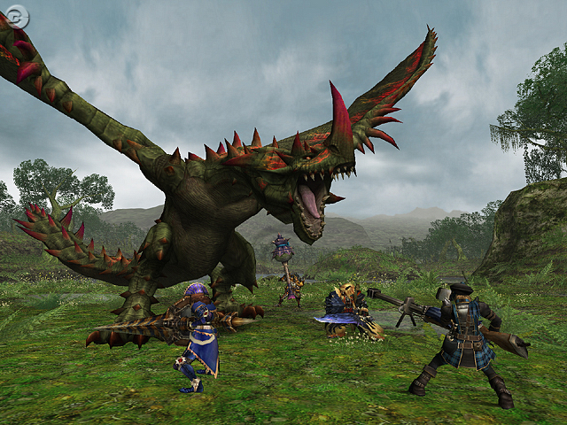 Monster Hunter Freedom Unite Upcoming Demo Favonian
