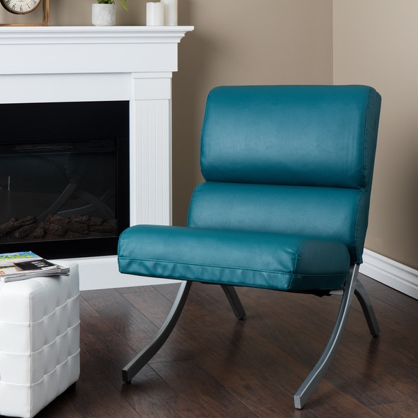 rialto black bonded leather chair target high covers a collection by anglina favorave teal upholstery