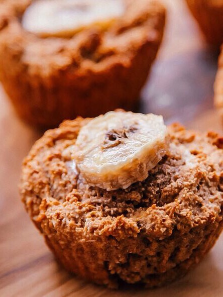Speculaas havermout muffins uit de Airfryer