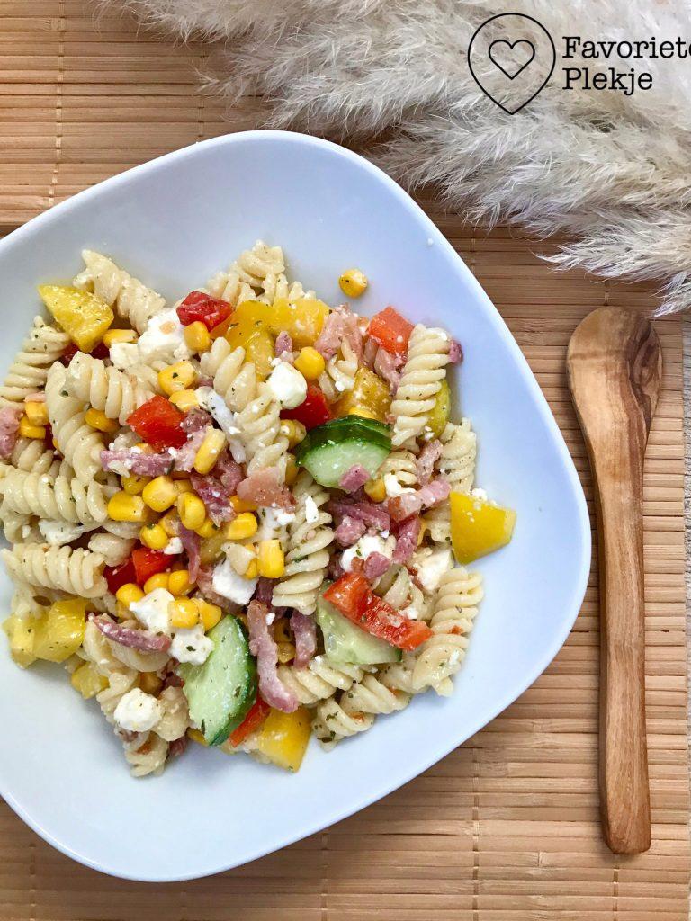 Mijn favoriete pastasalade!