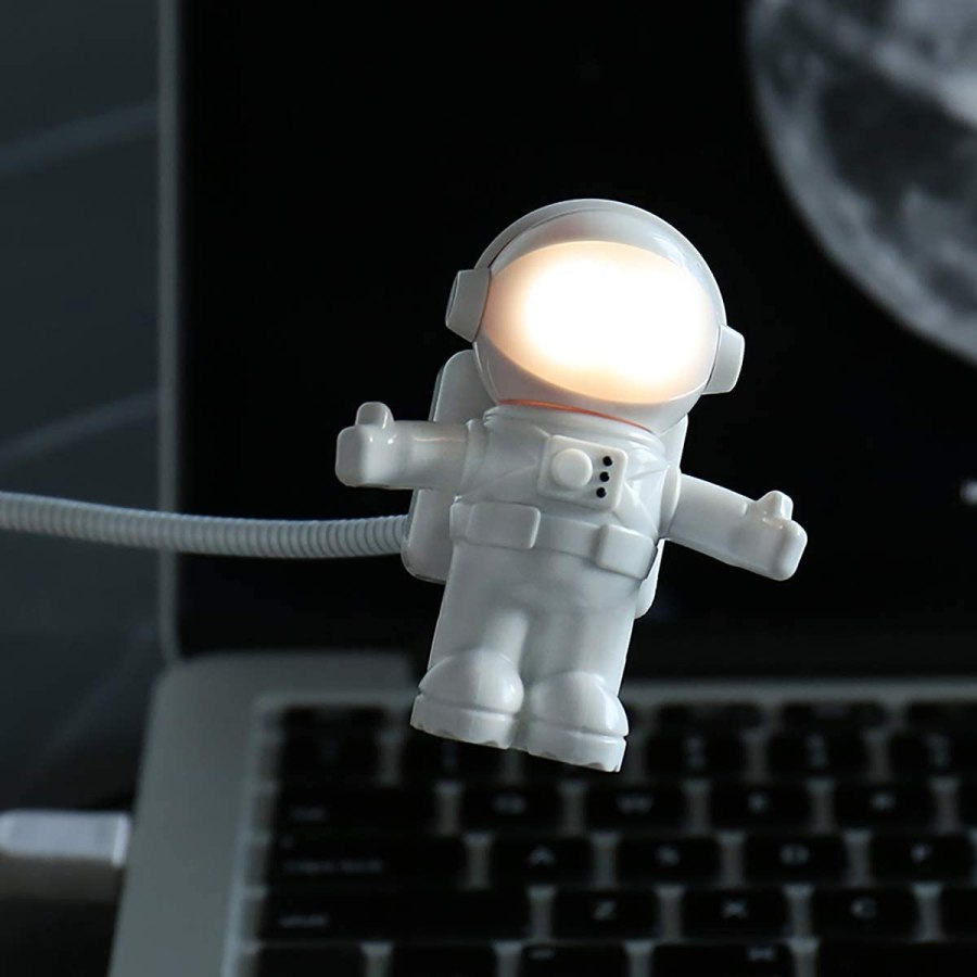 Astronaut USB LED Light Cool Birthday Gifts For Guys