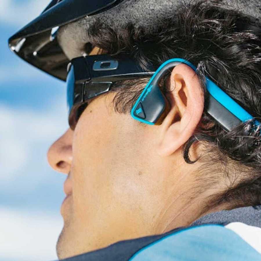 AfterShokz Titanium Bone Conduction Wireless Headphones Bike - Cool Birthday Gifts For Guys