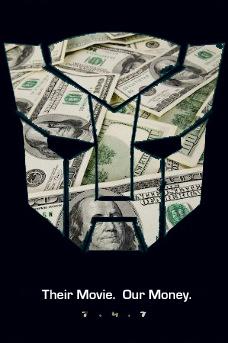 Transformers box office money