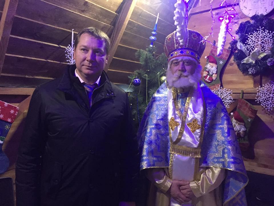 Будиночок святого Миколая навідав навіть губернатор Херсонщини