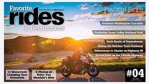 Favorite Rides & Destinations Fall 2017