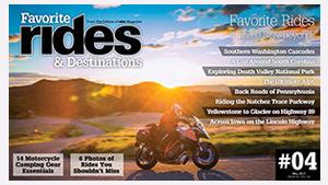 Favorite Rides & Destinations Fall 2017