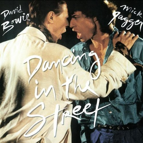 ミックとボウイ奇跡のコラボ「ダンシング・イン・ザ・ストリート」