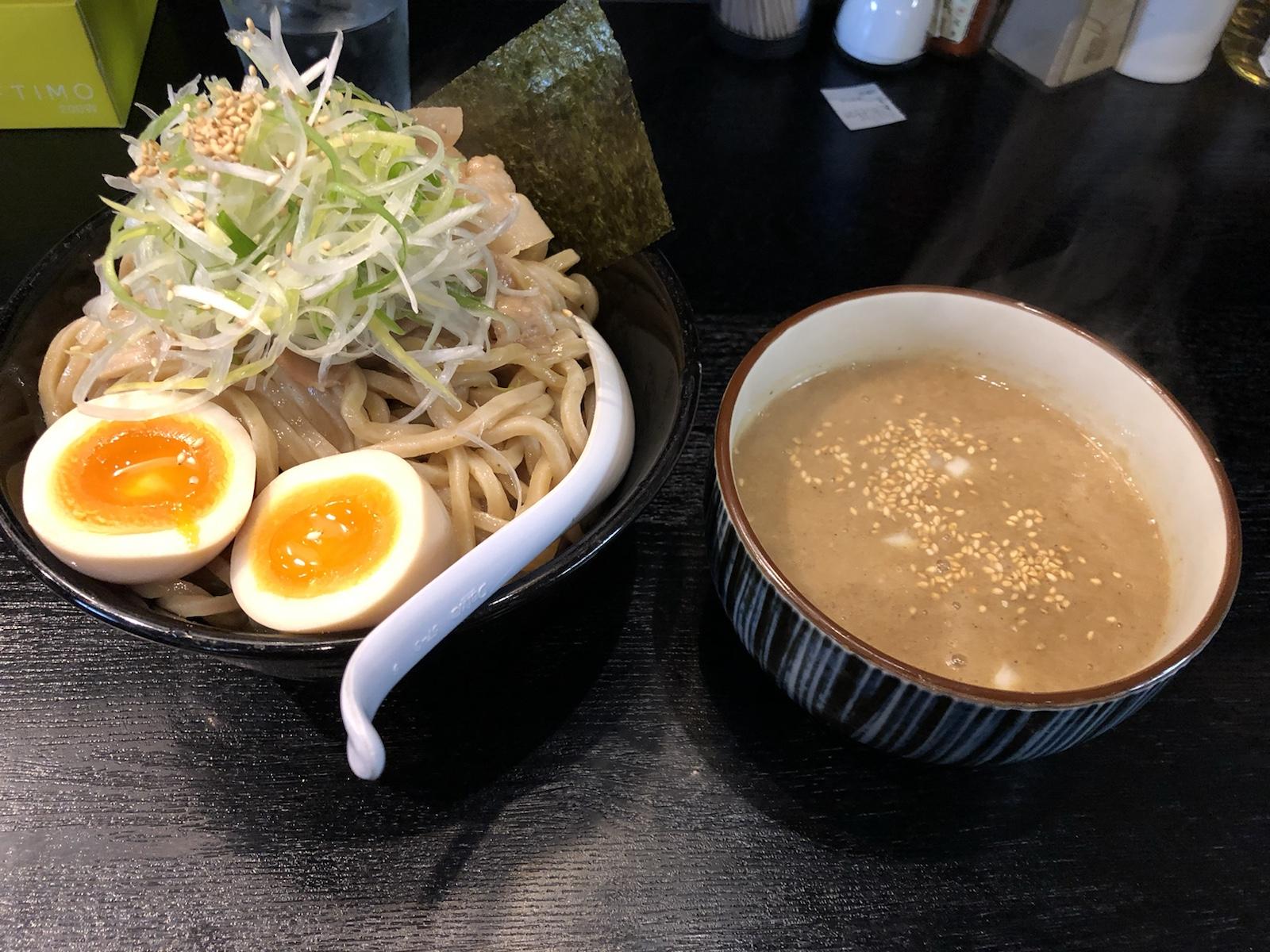 仙台のおススメ!焼きあごの旨みたっぷり、どろつけ麺「亞呉屋」