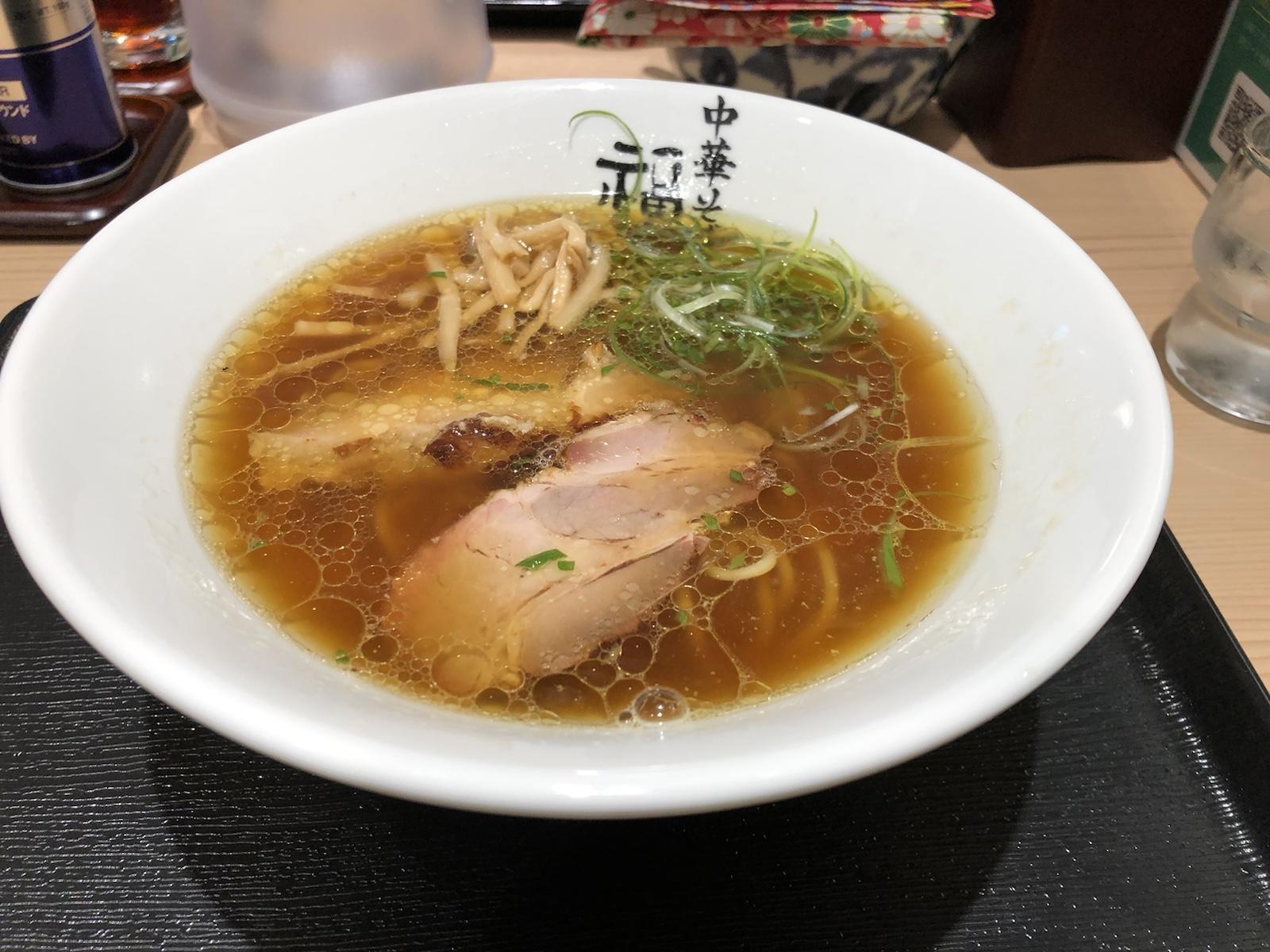 東京駅KITTE「ラーメン激戦区」初訪問!こだわりの鶏清湯「中華そば 福味」へ