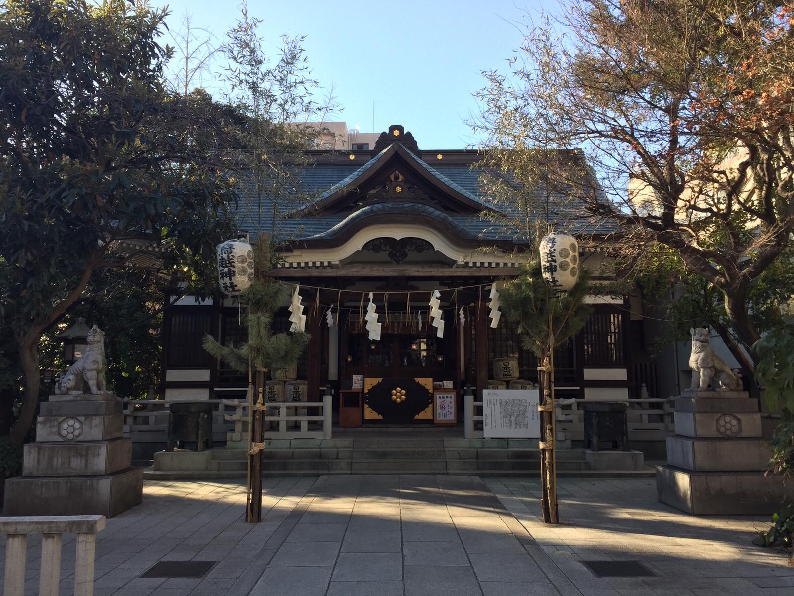 """白鳥と蔵にゆかりある歴史ある社へ 東京福めぐり""""鳥越神社"""""""
