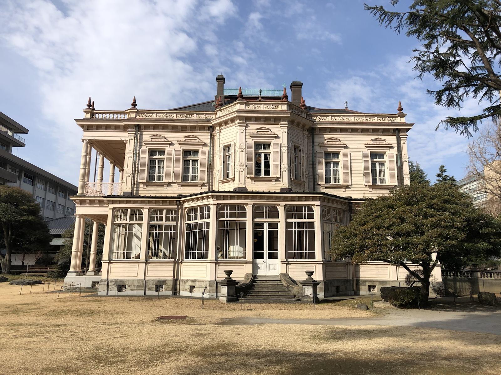 岩崎弥太郎の意志を受け継ぐ和と洋の館「旧岩崎邸庭園」