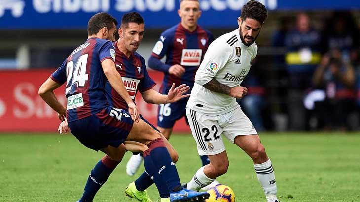 Футбол Реал Мадрид - Эйбар 14.06.2020 смотреть онлайн