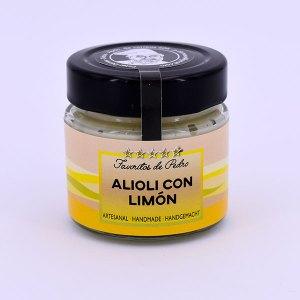alioli con limon - Alioli con Limón