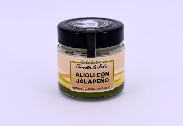 alioli con jalapeño - Alioli con Jalapeños