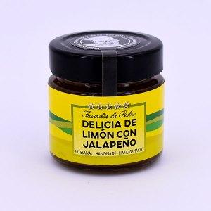 Memrelada de limón con jalapeño