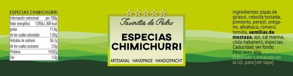 especias chimichurri 1 - Especias Chimichurri