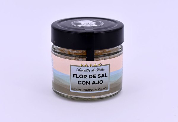 flor de sal ajo - Flor de Sal con Ajo