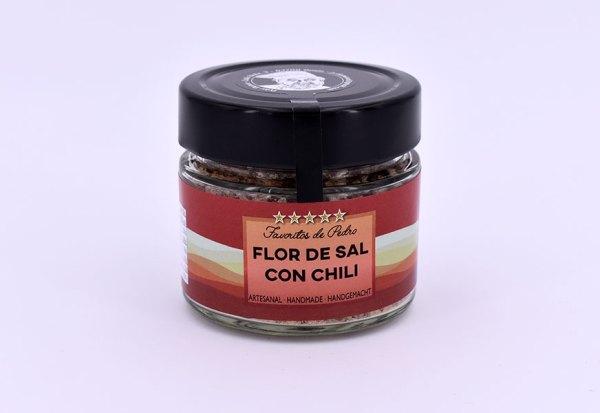 flor de sal chili - Flor de Sal con Chili (Chile)