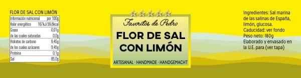 flor de sal con limon - Flor de Sal con Limón
