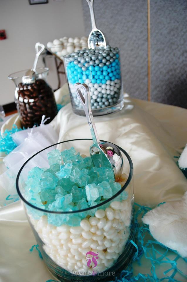 Lovely Tiffany Blue Baby Shower  Favors  More LLC