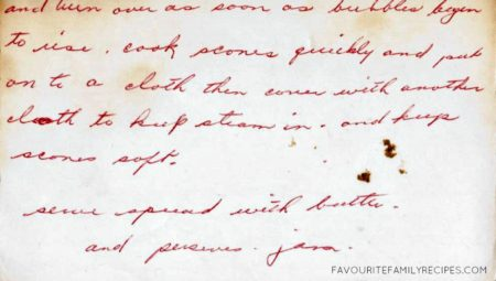 Grandma Aston's Drop Scones Recipe - FavouriteFamilyRecipes.com