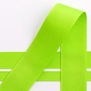 Lime Grosgrain Ribbon