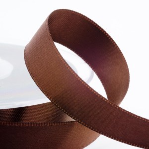 Brown Satin Ribbon